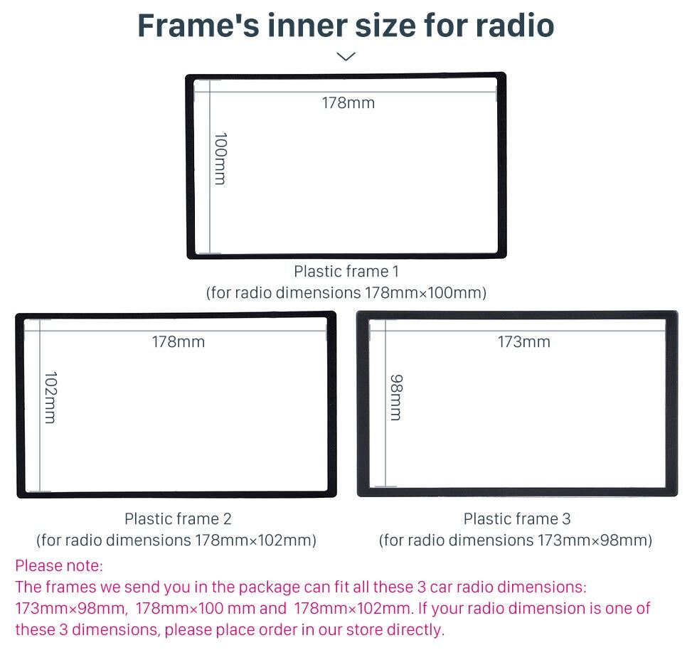 Seicane Great Double Din Car Radio Fascia For 2011 Mazda 5 Miata Engine Plastic Skirt Diagram S37ma019 01 02 03 04 05 06 07 08