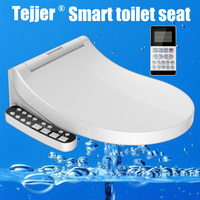 Tejjer Smart Toilet Seat Toilet Seat Bidet Washlet Electric Bidet Cover Heat Seat Led Light Intelligent Toilet Cover Auto