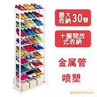 2016 Best Selling Hoge Kwaliteit Schoenenrek Plank Bulk Groothandel Rvs + abs10layers Opvouwbare Gemakkelijk Monteren Opslag Hanger