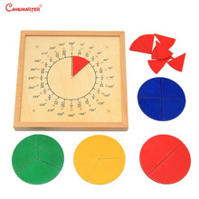 Montessori Materials Round Score Board Multicolor Kids Toy Wooden Friendly Safe Toy Teaching Aids Math Toys for Children MA012-3