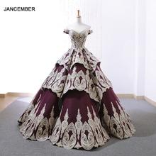 J66705 jancember quinceanera Dresses 15 off the shoulder ball gown floor length girls party dresses vestidos de quinceaneras