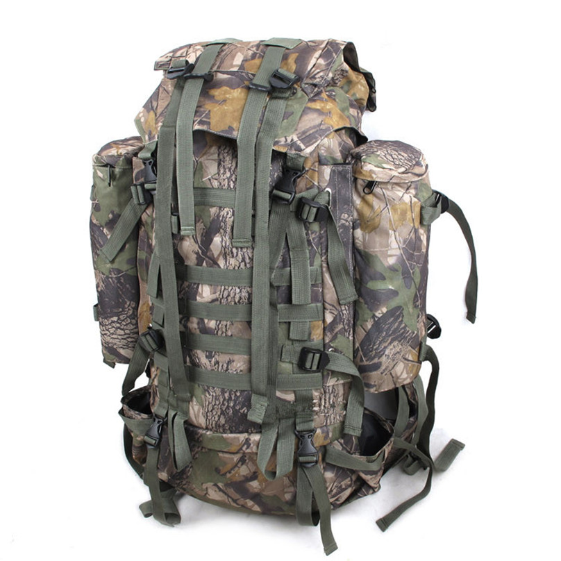 Luggage double-shoulder professional valiz mountaineering bag Camouflage 80 L Waterproof backpack waterproof travel backpacks good group diy kit led display include p8 smd3in1 30pcs led modules 1 pcs rgb led controller 4 pcs led power supply