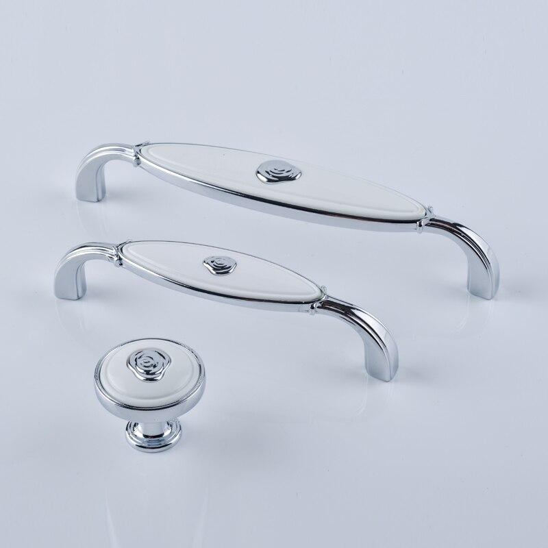 128mm Moden Simple Fashion Creativity Silver Chrome
