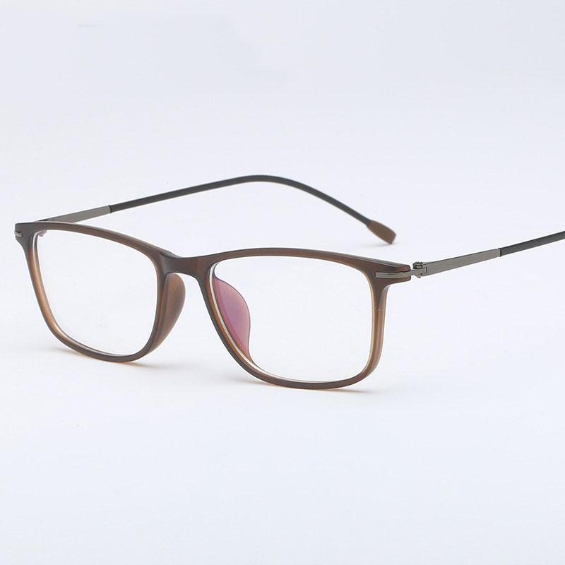 93c704c90 TR-90 البلاستيك إطار نظارات شمسية الرجال الأزياء قصر النظر البصرية وصفة طبية  واضحة الكمبيوتر