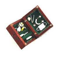 1/12 puppenhaus Mini Medizinische Box Arzt Puppenhaus Miniatur Zubehör Modell Spielzeug Kit Simulation Möbel Für Puppenhaus