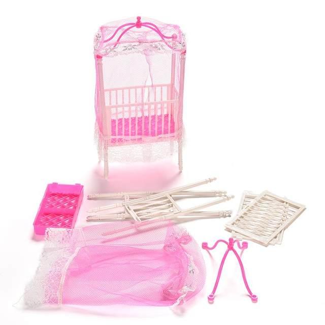 Tienda Online BESTIM INCUK Pequeño Dulce Bebé Cuna Para Barbie Girls ...
