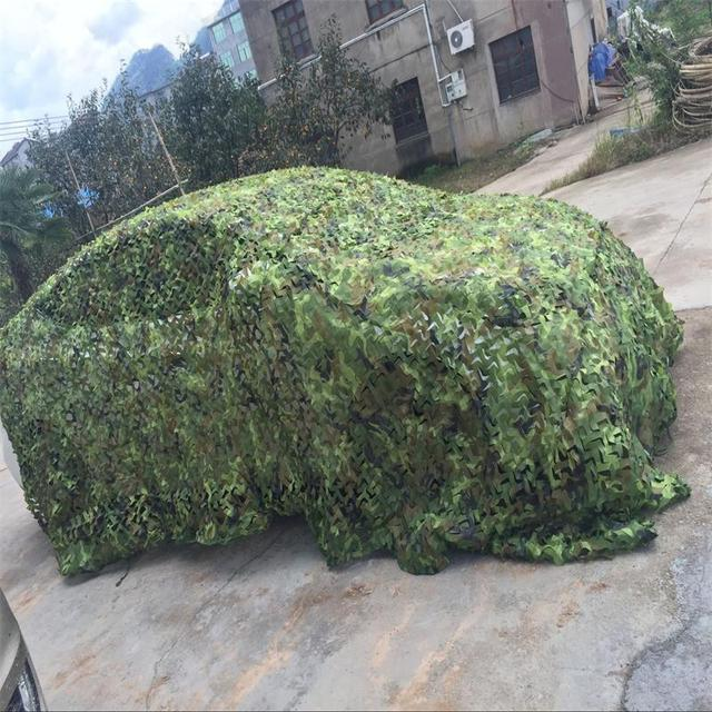 4M*5M Military Camouflage Net Sun Shelter Tourist Tents Camouflage Shade Cloth Beach Party Recreation Sun Shelter Camouflage Net