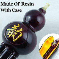 Chinese Resin Flute Gourd Wind Instrument Professional Ethnic Instrumento Musical Calabash Cucurbit Flauta Hulusi With Case&Dimo