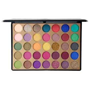 30pcs wholesale Eyeshadow Pallete 35 Colors Colorful Powder Pigmented Shadows Glitter Diamond Shimmer Makeup Eye Shadow Palette фото