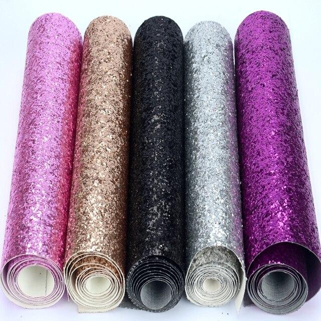 Glitter Material de Tecido (Pedaços) mini Rolo 25 cm x 138 cm-Artesanato/Apliques/Natal/beira Da Parede/Papel De Parede