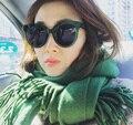 Бренд Поляризованных Солнцезащитных Очков Круглая Рамка Мужчины Женщины Супер Свет Ацетат Очки Солнцезащитные очки UV400 Óculos de sol 2017 Высокое Качество