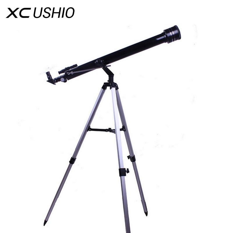 Qualidade 675 Vezes Zoom Outdoor Monocular Espaço Astronômico Com Tripé Portátil Espaço da Mancha 900/60 m Telescopio