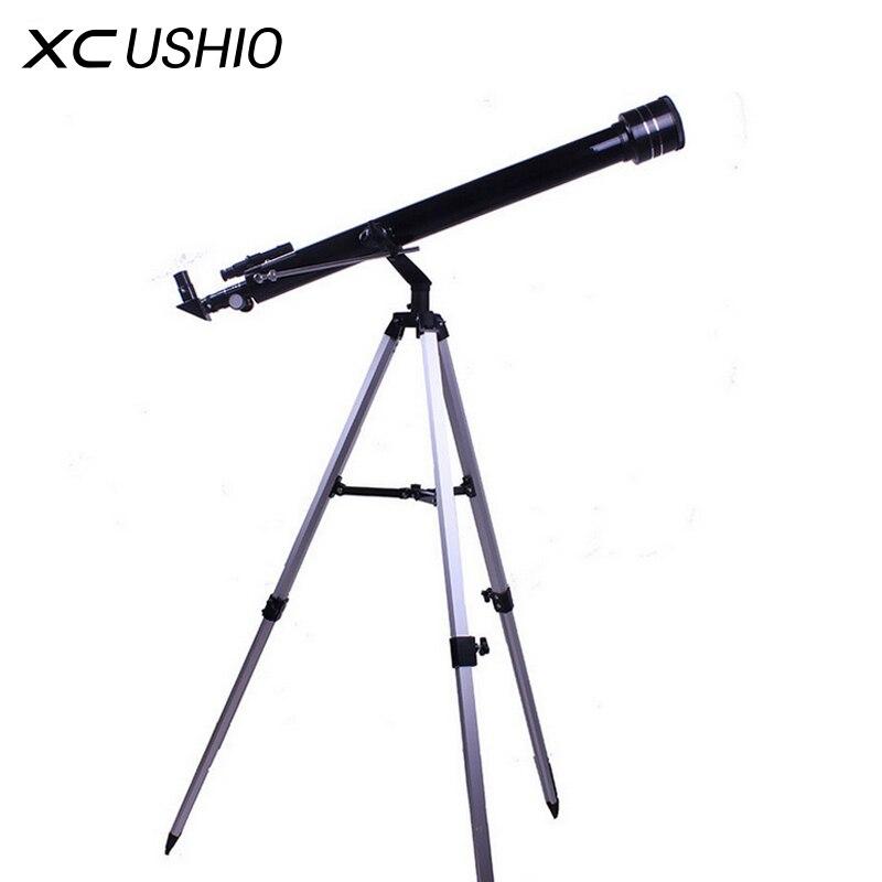 Télescope astronomique de l'espace monoculaire extérieur de zoom de qualité 675 fois avec la portée de tache portative de trépied 900/60 m télescopio