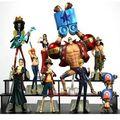 10 pçs/set um pedaço conjunto completo de PVC Action figure brinquedos 2 anos mais tarde Grande Boneca modelo