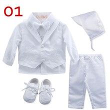 Christening Baby Boy Clothes Gooulfi Baptism White Newborn Infant Clothing  Set