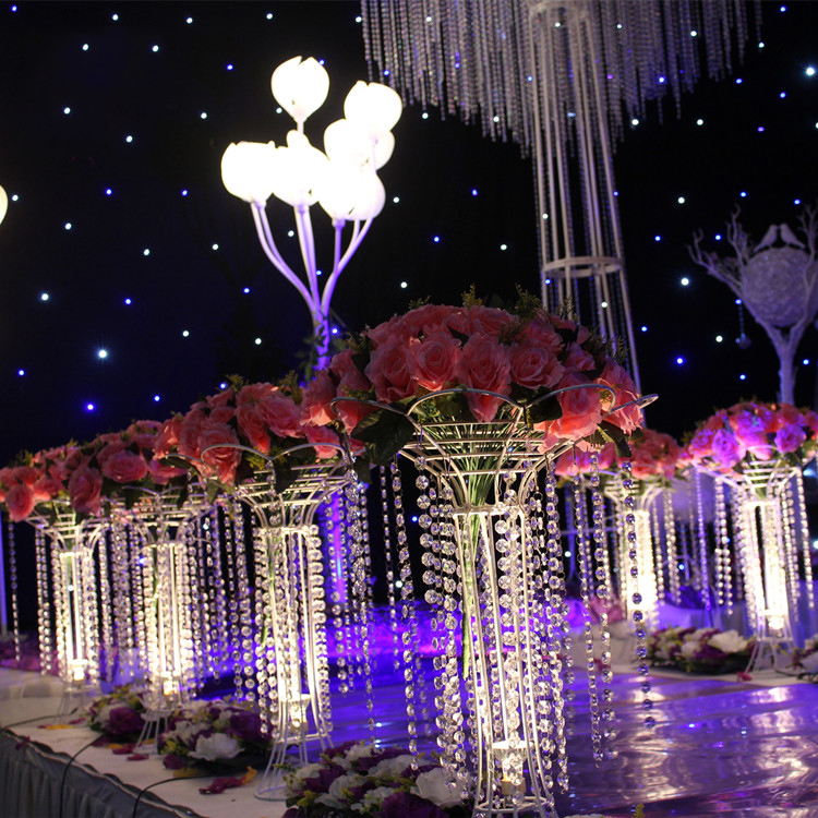 The new crystal tree flower racks light road lead wedding the new crystal tree flower racks light road lead wedding decoration supplies t stage furnishings home decoration supplies in event party from home junglespirit Image collections