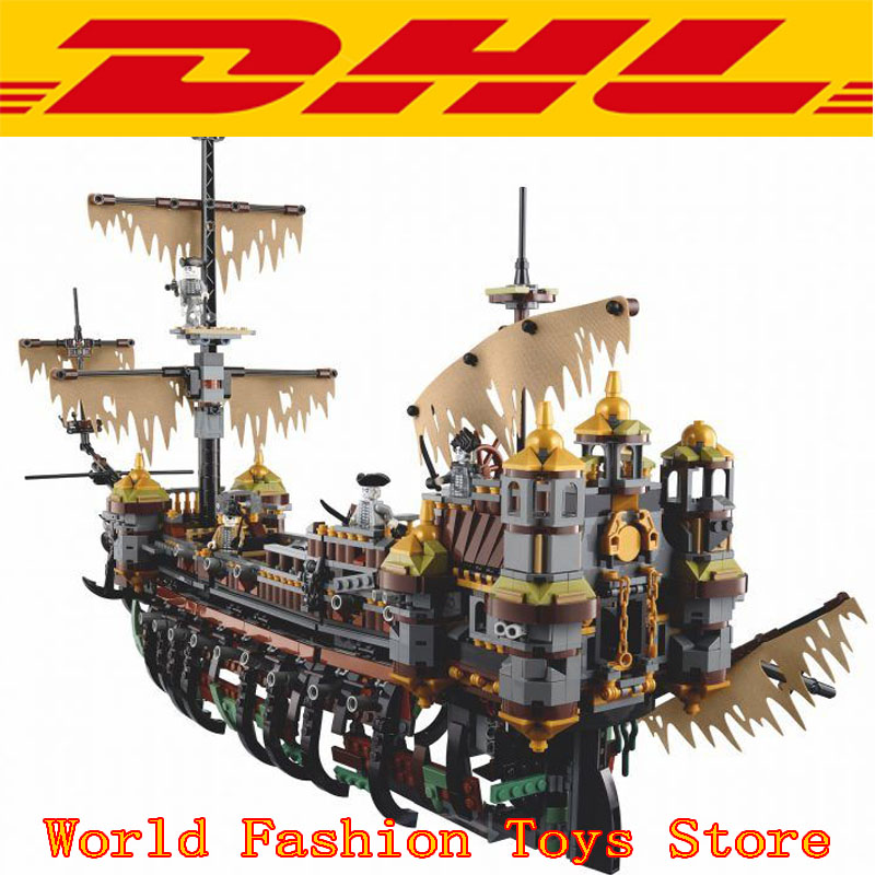 Hot Pirate Ship Series The Slient Mary 16042 2344Pcs Children Educational Building Blocks Bricks Toys Model Gift 71042 lepin 16002 22001 16042 pirate ship metal beard s sea cow model building kits blocks bricks toys compatible with 70810