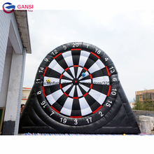 2018 funny sport inflatable human football darts game,5m height giant inflatable football dart board with cheap factory price best price of football dart game inflatable soccer darts game on sale