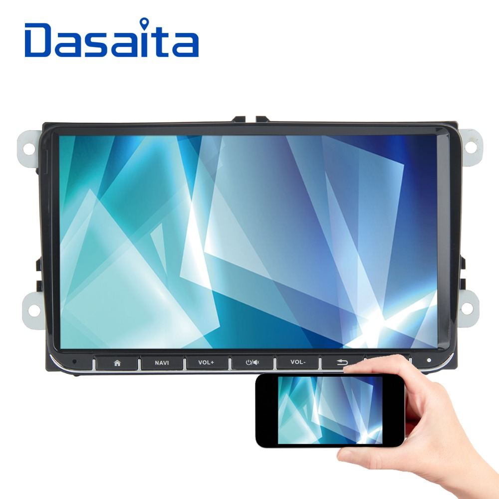 "Dasaita 9"" Android 8.1 Car GPS Player Navi for Seat Leon for Alhambra fior Altea for Toledo 2G+16G Auto Stereo Radio No DVD-in Car Multimedia Player from Automobiles & Motorcycles    1"