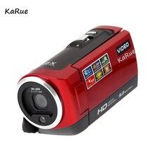 """Karue C6 мини Портативный 720 P 30FPS цифровой Камера 2.7 """"ЖК-дисплей Экран 16MP 16X цифровой зум Anti-Shake видео Регистраторы видеокамера"""