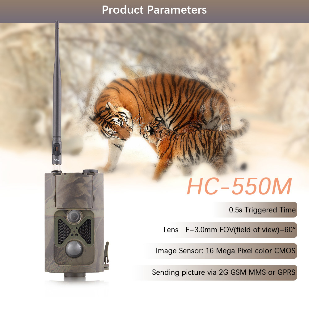 HC-550m Trail hunting game camera hunting foto trap animal cam scout deer feeder chasse trampas para cazar security guard image