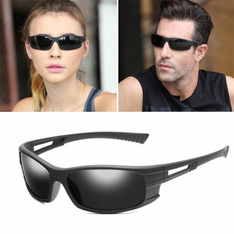NEW Polarized Brand Designer Retro Glasses Outdoor Sports Fishing Driving Sunglasses Vintage Goggles Eyewears 2019 Hot UV400