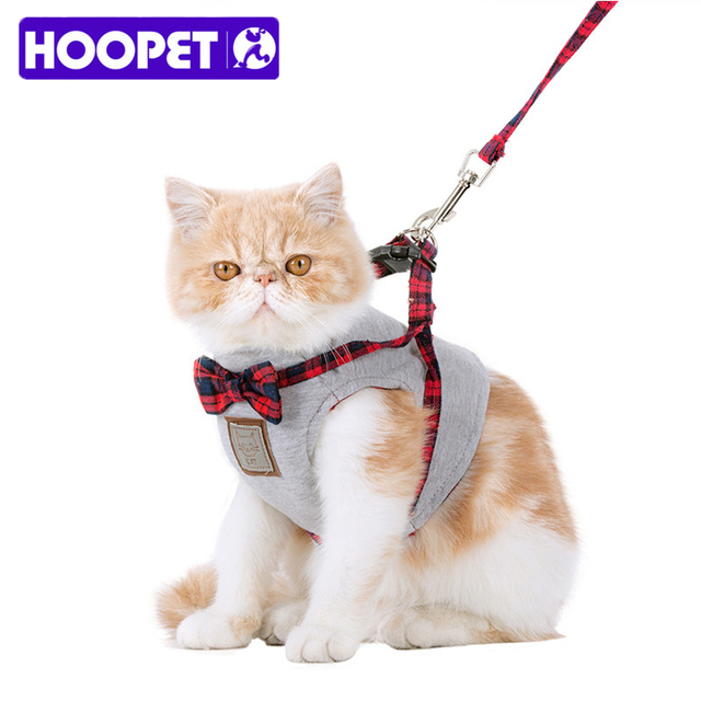 Pet Cat Harness And Leash Set Fashion Jacket Walking Lead Training Hand Grip Straps