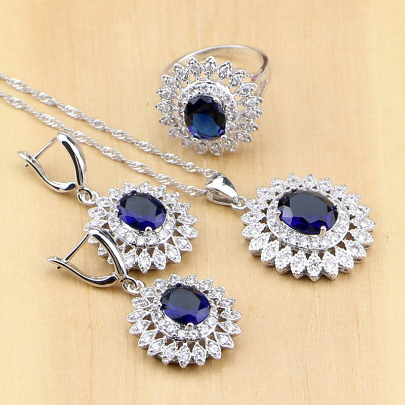 Bridal Jewelry Sets Oval...