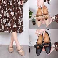 Brand Ksyoocur 2018 New Ladies Flat Shoes Casual Women Shoes Comfortable Pointed Toe Flat Shoes Spring/autumn Women Shoes 18 020