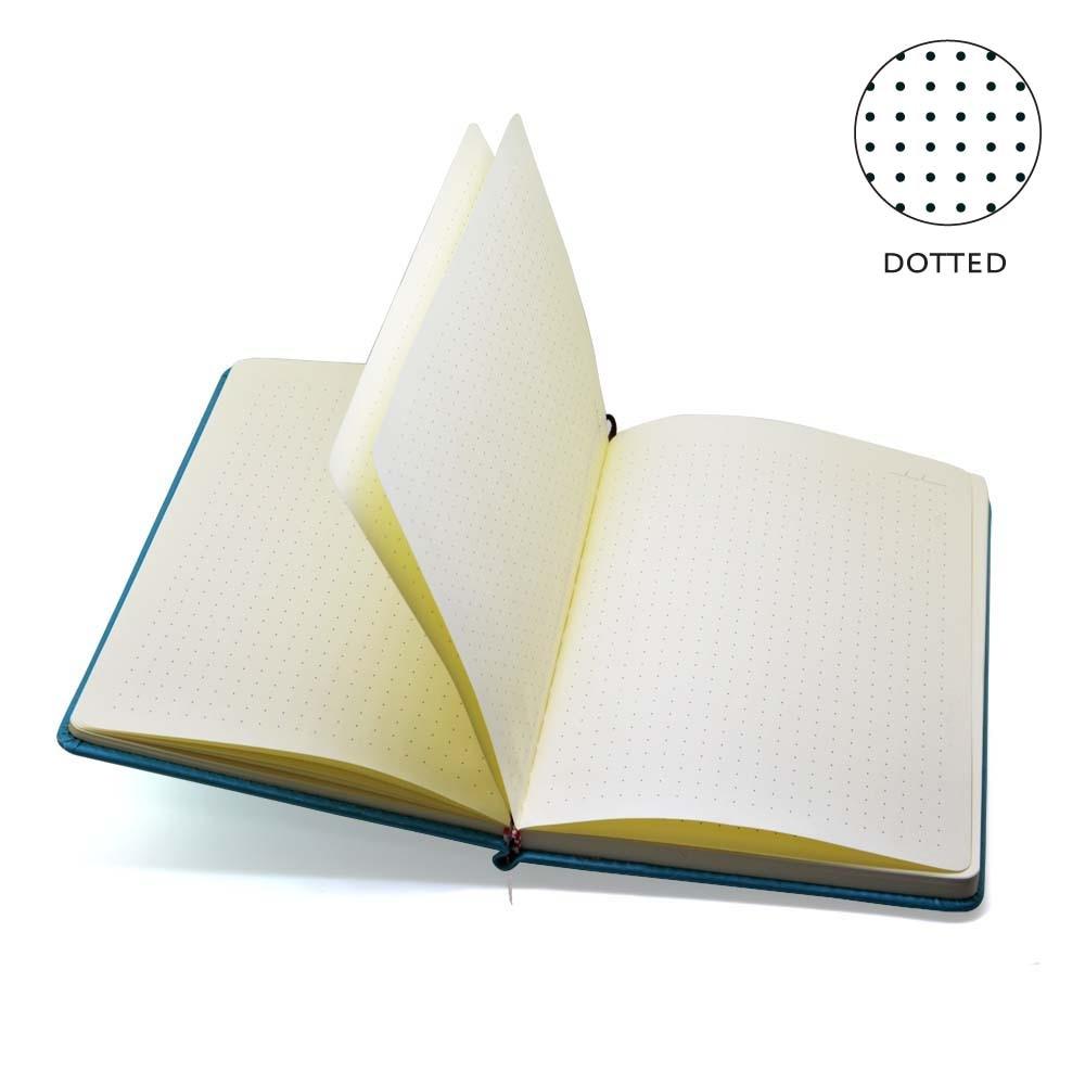 Gestippelde Hard Cover Creative Notebook Dagboek Business Cartoon - Notitieblokken en schrijfblokken bedrukken - Foto 3