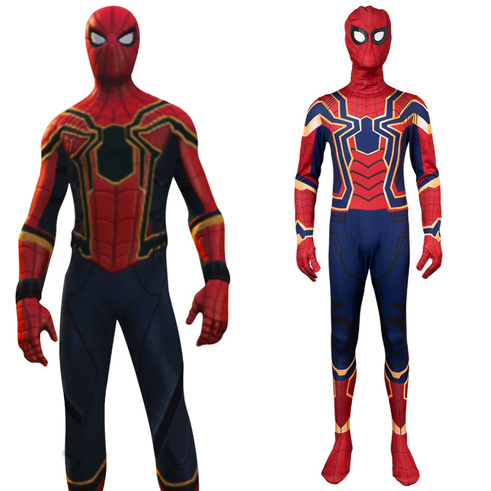 Avengers Infinity War Iron Spider Spider-Man Homecoming Cosplay Costume Captain America 3 Spiderman Peter Parker Tom Holland