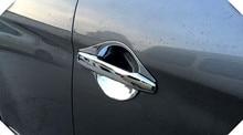 2012-2016 для Peugeot 4008 2 шт./компл. внутренняя заднего бампера протектор Подоконник отделка багажника автомобильные аксессуары