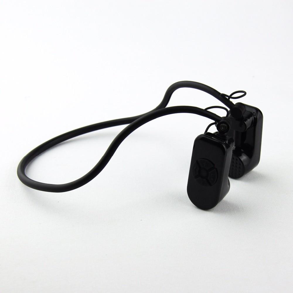 Новый мини Bluetooth костной проводимости для наушников Беспроводной спортивные Musci телефонные звонки гарнитура с микрофоном стерео наушники д...