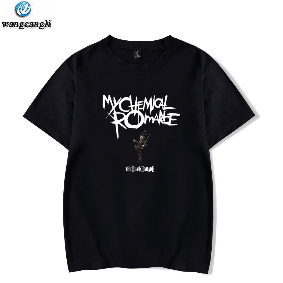 My Chemical Romance Tshirt   T     Shirt   Men/Women Black Parade Punk Emo Rock   T  -  shirt   Casual Summer Oversize   T     Shirts   Tops Tee