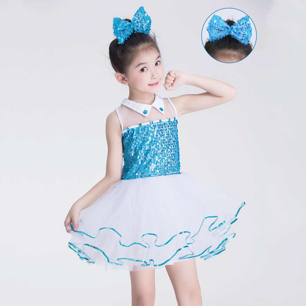 Apliques De Diamantes De Imitación Niñas Rosa Azul Traje De Cumpleaños Para El Desfile De Niños De 3 4 5 6 7 A 10 12 Años Vestido De Fiesta De Niña
