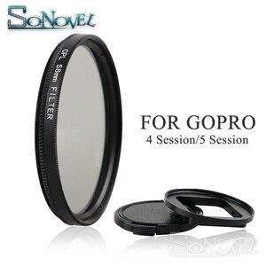 Image 1 - Filtro de lente circular para go pro hero 4, filtro de lente polarizante circular de 58mm cpl para gopro hero 4 hero 5 sessão