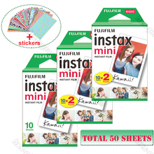 Original Fuji Fujifilm Instax Mini 9 Film White 50 Sheets For 8 9 70 7s 90 25 Share SP 1 SP 2 Liplay Polaroid 300 Instant Camera