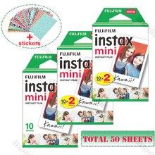 Orijinal Fuji Fujifilm Instax Mini 9 Film beyaz 50 Sheets 8 9 70 7s 90 25 payı SP 1 SP 2 Liplay Polaroid 300 anlık kamera