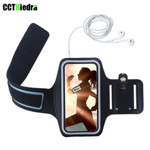 For Apple iPhone 7 6s 6 4.7 Adjustable Sport Gym Armband Bag Case touch Waterproof Jogging Arm Band Mobile Phone Belt Cover