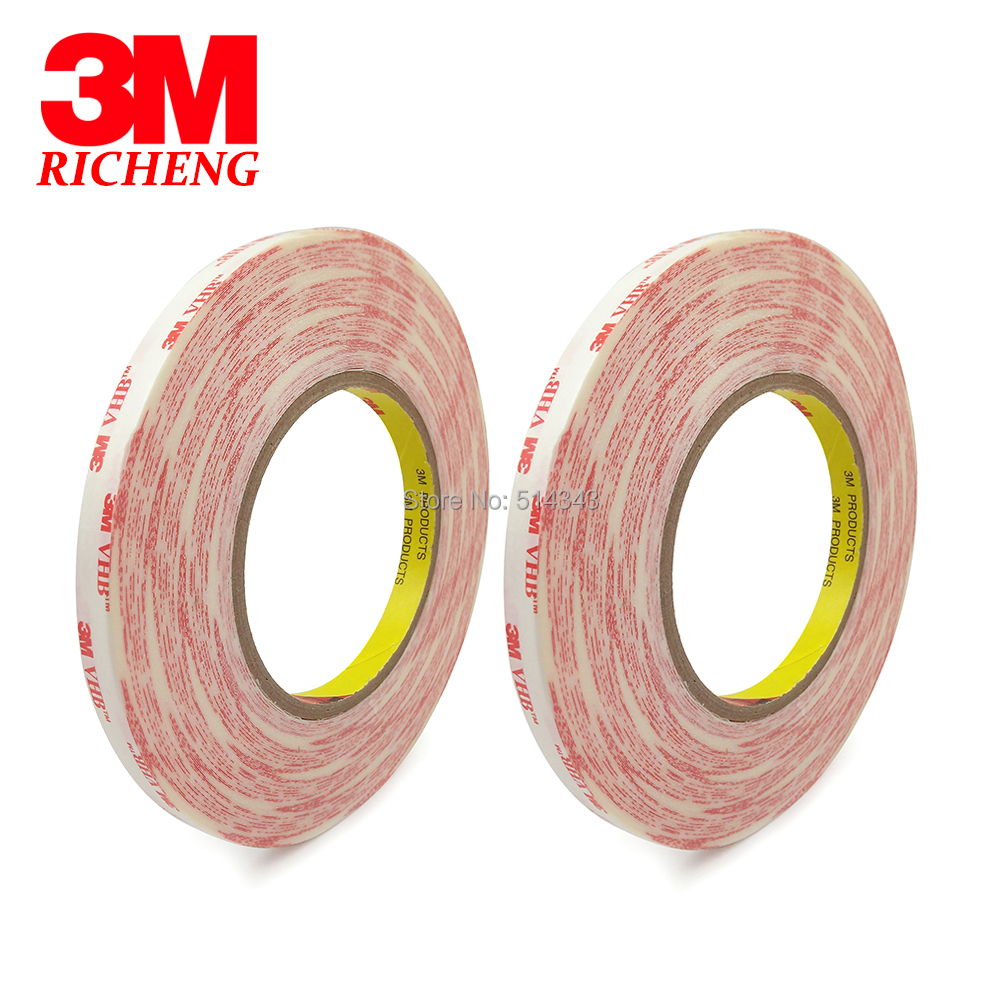 10mm*55M 3M 467MP 200MP Double Sided Tape Adhesive for LCD Resist Nameplate Bond