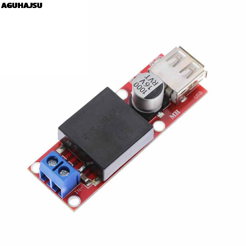 5V USB Ausgang Converter DC 7 V-24 V Zu 5V 3A Schritt-Down Buck KIS3R33S modul KIS-3R33S