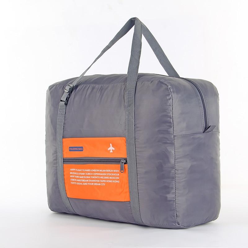 IUX Fashion Folding Bag Unisex Bagage Resor Handväskor WaterProof - Väskor för bagage och resor - Foto 4