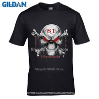 GILDAN Brand Vintage Retro Cool Rock Roll Punk Tops Tees Support 81 Big Red Machine Hells