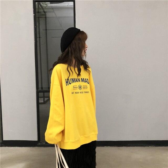 2018 Autumn Harajuku Fashion Black Female T Shirts Japanese Gothic Casual Tops Street Wear Oversized Knitted Women Slim tshirt 2