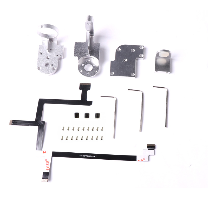 Drone Repair Parts DJI Phantom 3 Standard Gimbal Camera Cable Yaw Arm Roll Arm Bracket Rubber Balls Shock Absorber Gimbal CoverDrone Repair Parts DJI Phantom 3 Standard Gimbal Camera Cable Yaw Arm Roll Arm Bracket Rubber Balls Shock Absorber Gimbal Cover