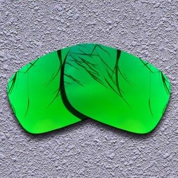 f4e70ba118 Lentes de repuesto polarizadas color verde esmeralda para gafas de sol  Oakley Holbrook