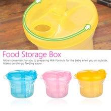 1pcs Portable Milk Powder Formula Dispenser Food Container Infant Feeding Storage Box for Baby Kids Care Toddler Travel Bottle