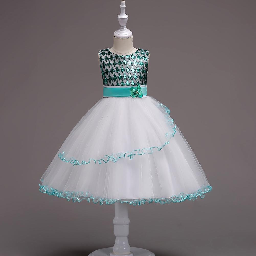 b98fd2a397df1d2 От 2 до 15 лет Bling Короткие Детские вечерние бальные платья платье с  блестками детская одежда для девочек Выпускные платья подростков