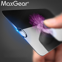 MaxGear 9H Tempered Glass Screen Protector Screen Guard For iPhone 4 4S 5 5C 5S SE 6 7 6S Plus Premium Toughened Protective Film