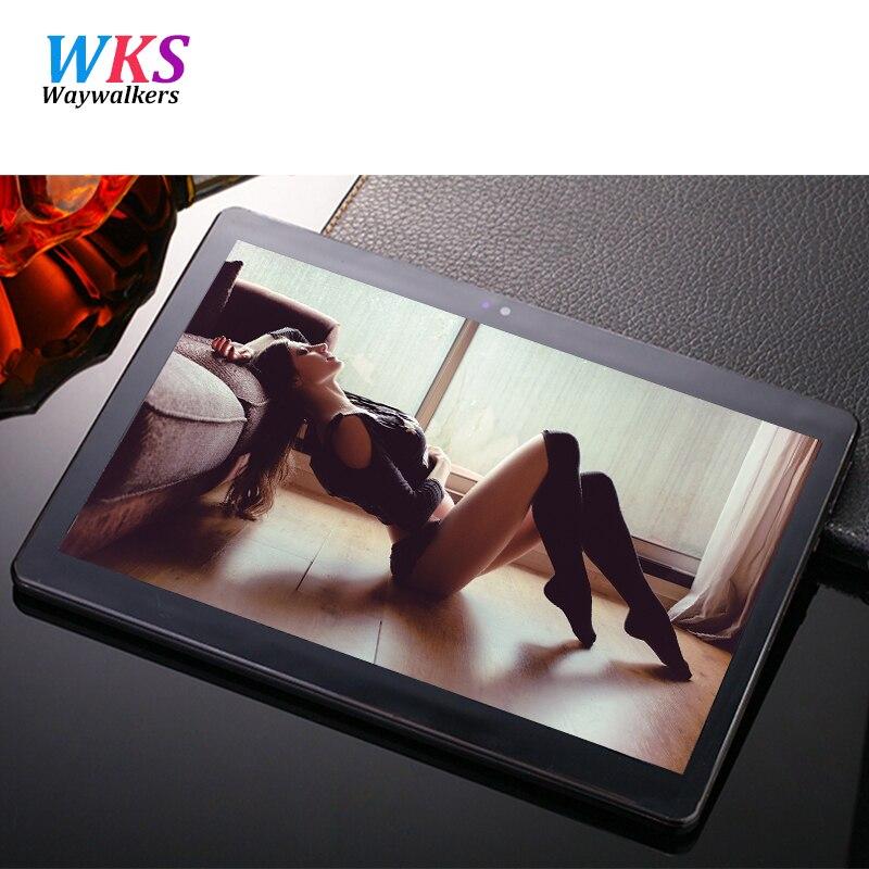 Waywalkers m9 4g 10.1 pulgadas tablet pc octa core 4 gb tabletas de teléfono RAM